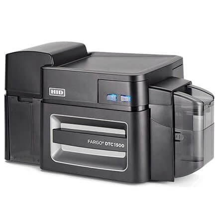 HID Fargo DTC 1500 Card Printer, USB & Ethernet